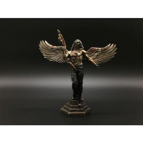 Veronese Wrona - zamaskowany skrzydlaty wojownik steampunk (wu76816a4)