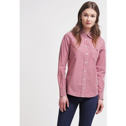 Gant Koszula dark red - oferta [05d46923b5d5c5cd]