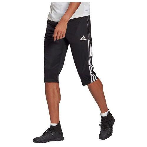 Spodnie męskie adidas Tiro 21 3/4 czarne GM7375 (4064044300805)