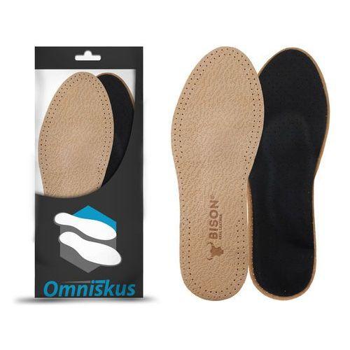 Wkładki do butów skórzane na płaskostopie wzdłużne oraz płaskostopie poprzeczne - R073