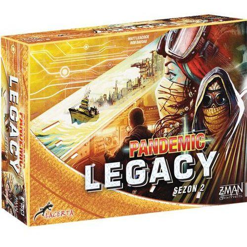 Lacerta Pandemic legacy (pandemia) - sezon 2 - edycja żółta (5908445421594)