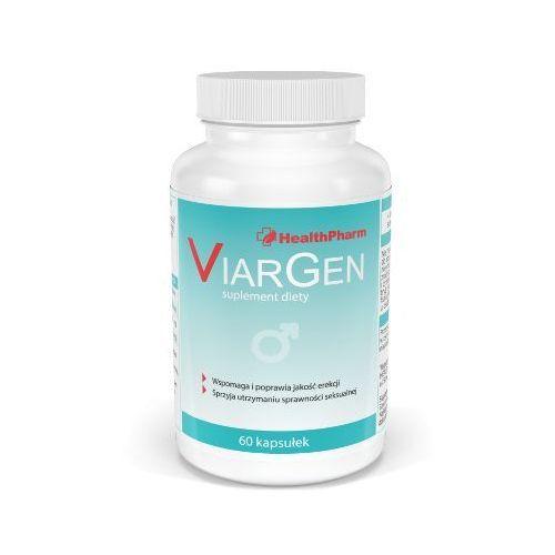 Viargen 60 kaps. l-arginina maca żeń-szeń siła ziół na zaburzenia erekcji hit! 693028 marki Healthpharm