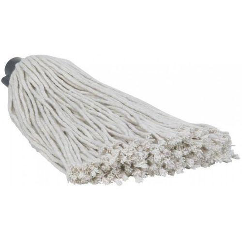 Mop z bawełny do mycia podłogi, 250 gram, biały, długość 320 mm, VIKAN 372518