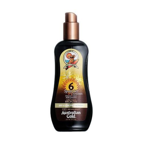 Australian gold spf 6 spray gel bronzer | spray do opalania z bronzerem 237ml