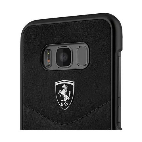 Ferrari FEHQUHCS8BK Samsung Galaxy S8 (czarny), FEHQUHCS8BK