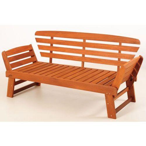 Home&Garden Ławka - leżanka ogrodowa Meranti 2w1 - sprawdź w Mall.pl