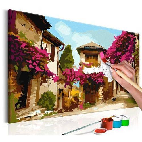 Artgeist Obraz do samodzielnego malowania - śródziemnomorskie miasteczko