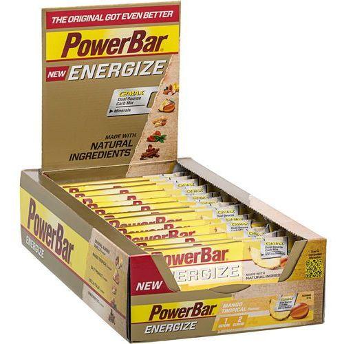 PowerBar New Energize Żywność dla sportowców Mango Tropical 25 x 55g 2018 Zestawy i multipaki