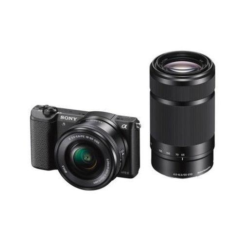Aparat SONY Alpha a5100 (ILCE-5100) Czarny + Obiektyw 16-50mm + 55-210mm DARMOWY TRANSPORT