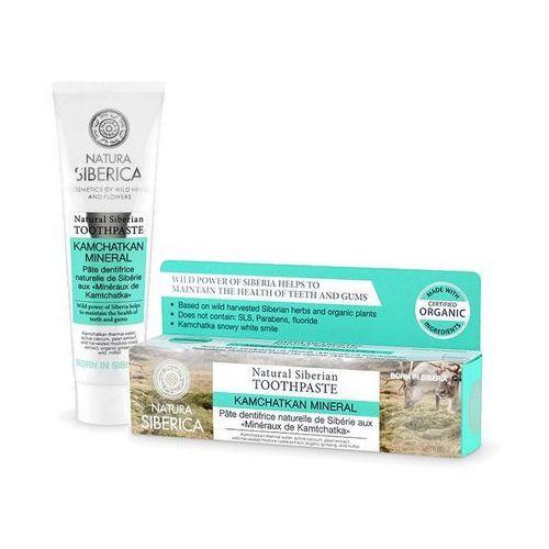 Natura siberica - (kosmetyki) Pasta do zębów minerały kamczatki eko 100 g - natura siberica