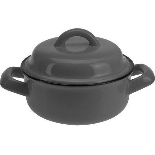 Ceramiczny garnek z pokrywką, naczynie żaroodporne, 550 ml