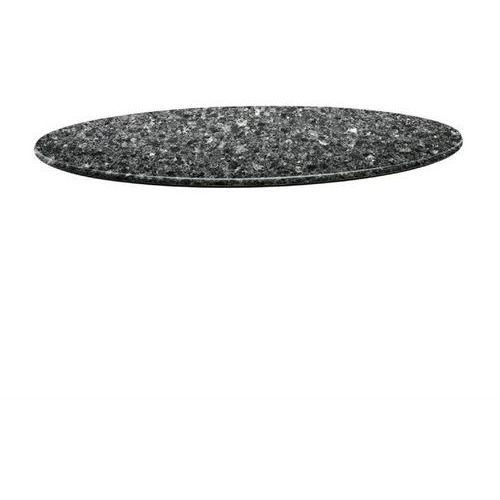 Blat okrągły czarny granit | różne wymiary marki Topalit