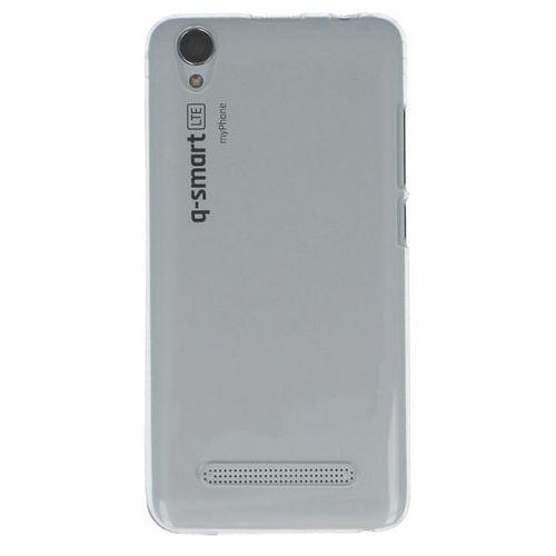 Nakładka do MyPhone Q-SMART LTE transparentny biały (5902052863884)