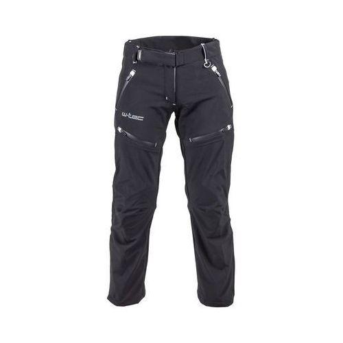Damskie spodnie motocyklowe softshell nf-2880, czarny, xxl marki W-tec
