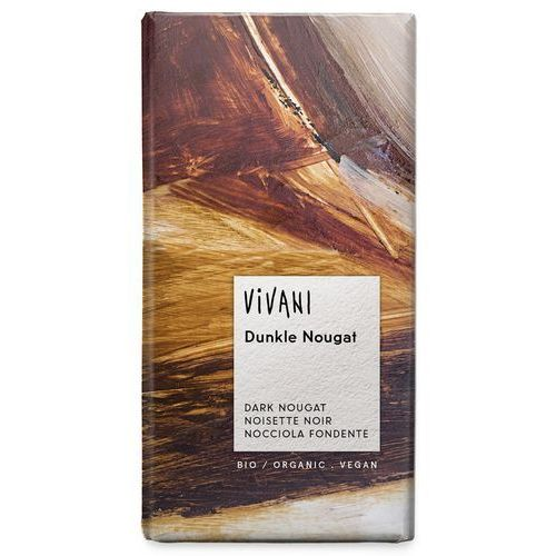 Vivani : czekolada gorzka nugatowa bio - 100 g (4044889001501)