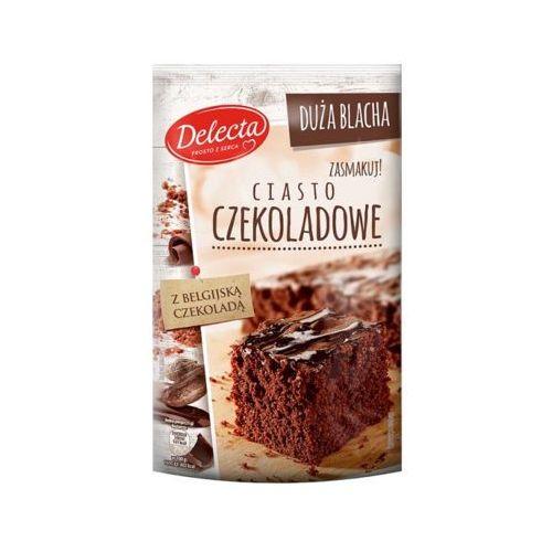 DELECTA 670g Duża Blacha Ciasto czekoladowe