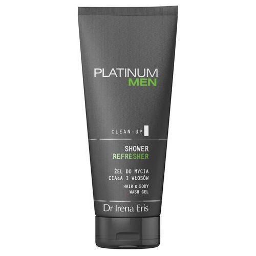 Dr Irena Eris PLATINUM MEN Shower Refresher żel do mycia ciała i włosów 200ml (5900717191723)