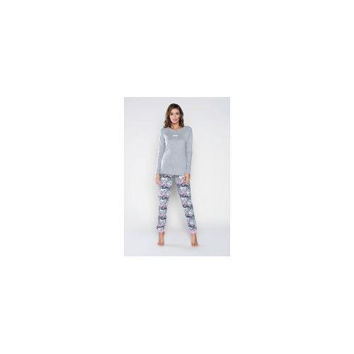 b8e08e6ef76613 Piżama z długim rekawem Italian Fashion ANA melanż, PIF.108 ANA MELANŻ  83,90 zł Dwuczęściowa piżama długim rękawem Italian Fashion Piżama z długim  rękawem i ...
