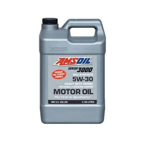 series 3000 100% synthetic 5w-30 heavy duty diesel oil marki Amsoil