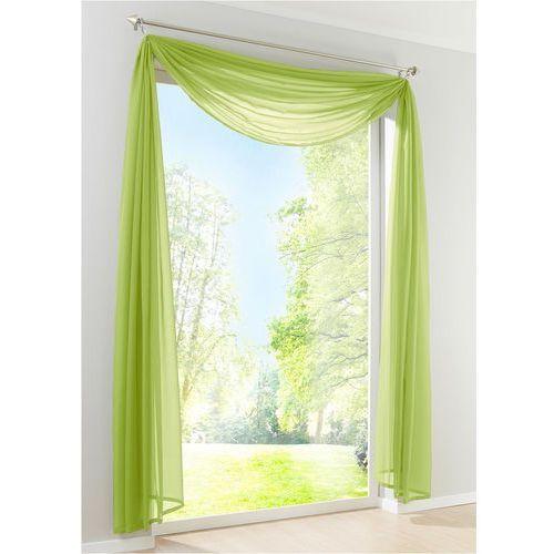 "Lambrekin ""Woal Uni"" (1 szt.) bonprix zielony, kolor zielony"