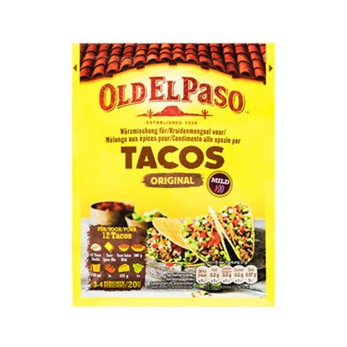 25g tacos przyprawa meksykańska marki Old el paso