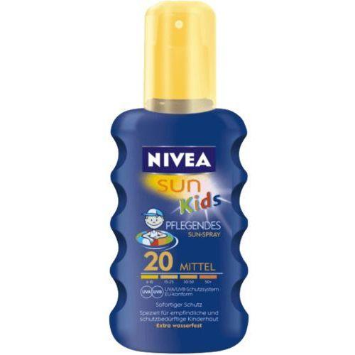 Kolorowy spray do opalania dla dzieci OF 20, 200ml, produkt marki NIVEA Sun