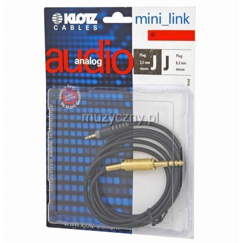 as mj 0300 kabel trs / mini trs 3m marki Klotz