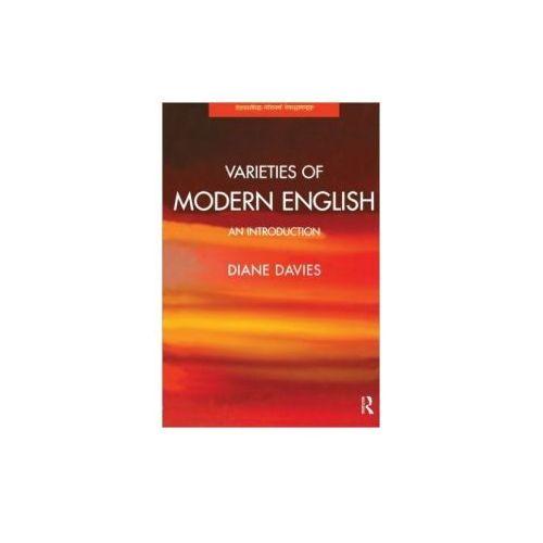 Varieties of Modern English: An Introduction, oprawa miękka