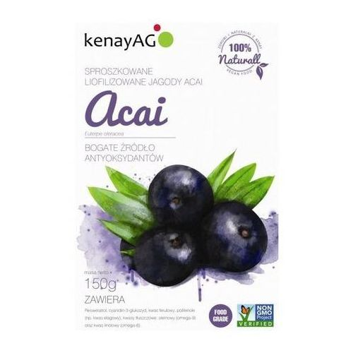 Acai - liofilizowane sproszkow jagody 150g (5900672150155)