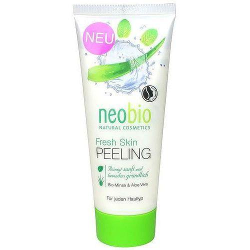 Neobio (kosmetyki eko) Peeling do twarzy z wyciągiem z mięty i aloesu eko 100 ml - neobio (4037067300008)