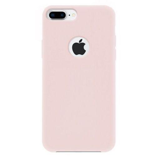 4OK Silk Etui iPhone 7 Plus/8 Plus piaskowy róż