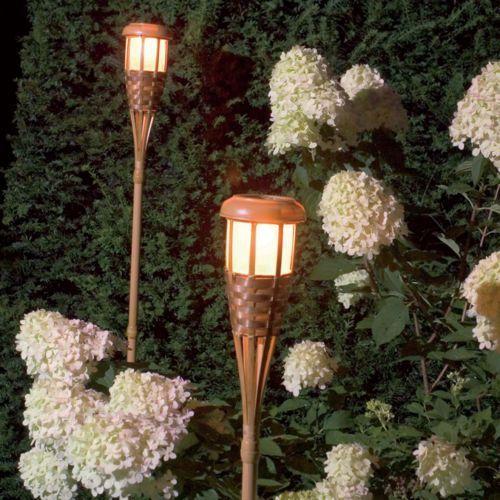Luxform Lampa ogrodowa RGB LED - pochodnia 4 szt. (lampa zewnętrzna ogrodowa)