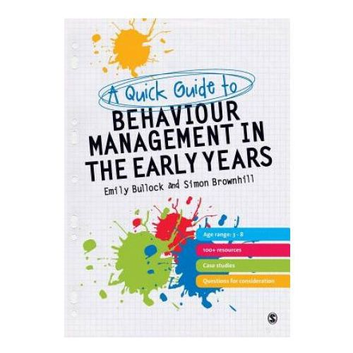 Quick Guide to Behaviour Management in the Early Years (9780857021656)