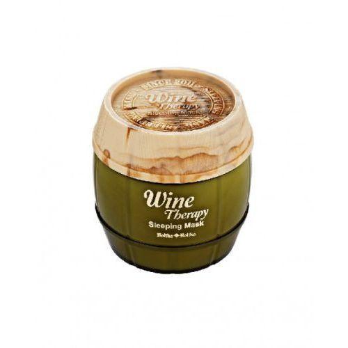 Holika Holika Całonocna maseczka z wyciągiem z białego wina, Wine Therapy Sleeping Mask 120ml - White Wine