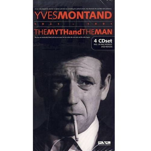 YVES MONTAND - The Myth and the Man (4CD), 4011222227553