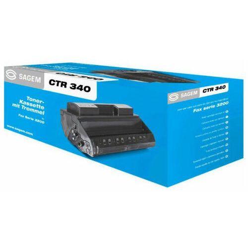 Wyprzedaż oryginał toner ctr340 l24fc0724 906115313101 do sagem fax-3240 fax-3245 mf-3260 mf-3265   3 000 str.   czarny black, opakowanie zastępcze marki Sagem