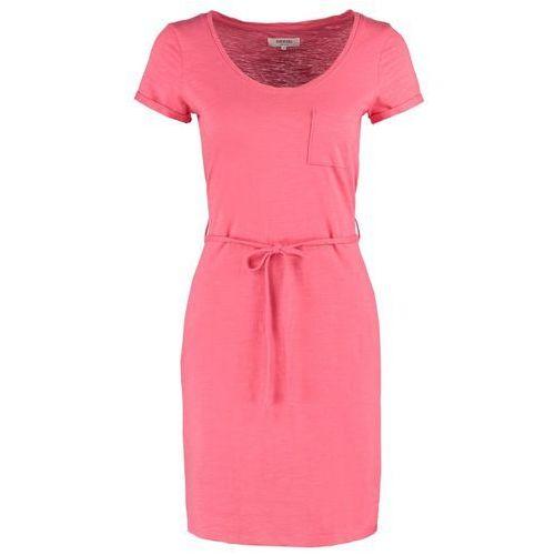 Zalando Essentials Sukienka z d�erseju coral