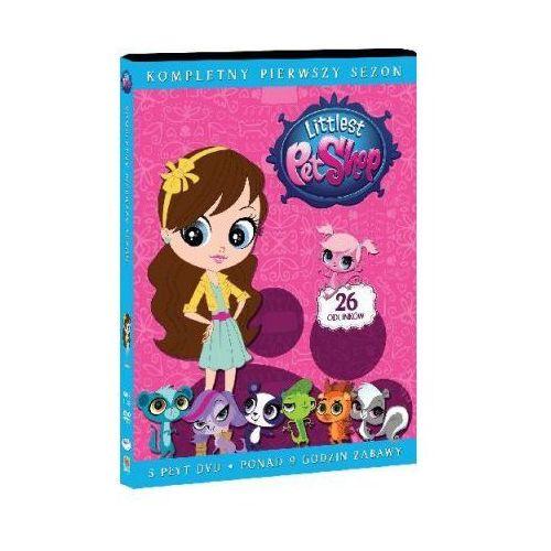 Galapagos Littlest pet shop. sezon 1 (5 dvd) (7321997610595)