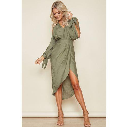 Sukienka PAOLA, kolor zielony