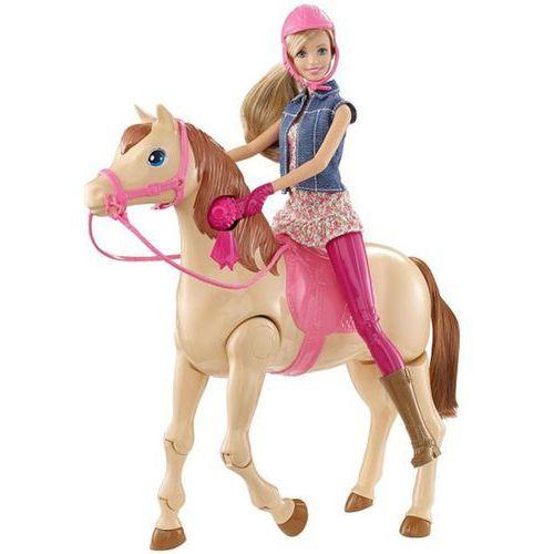 Lalka MATTEL CMP27 Barbie Dżokejka i konik + DARMOWA DOSTAWA! - oferta [05f16b288585b6bc]
