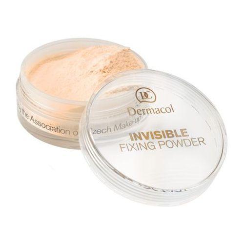 Dermacol Invisible Fixing Powder | Utrwalający puder transparentny - Banana 13,5ml