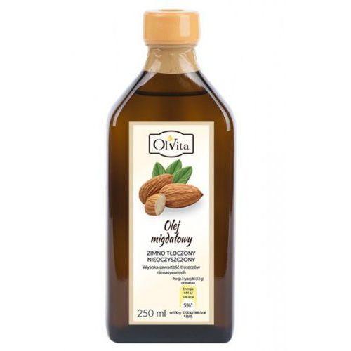 Olej migdałowy 250ml tłoczony na zimno - marki Ol'vita