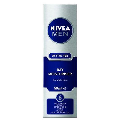 Nivea Men Active Age Day Moisturiser krem do twarzy na dzień 50 ml dla mężczyzn (4005808809752)