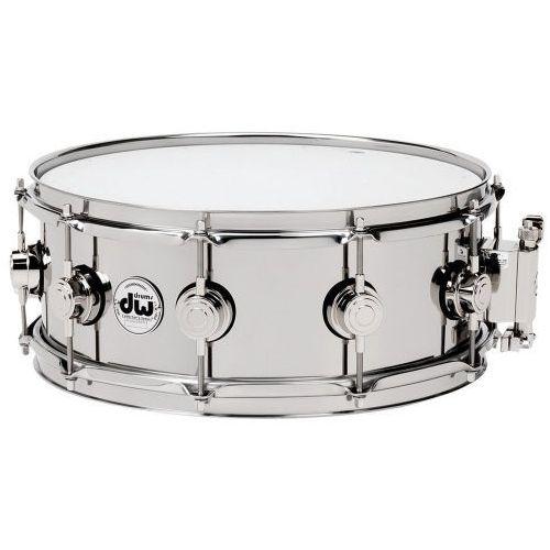 Drum workshop snaredrum stainless steel 13x5,5″