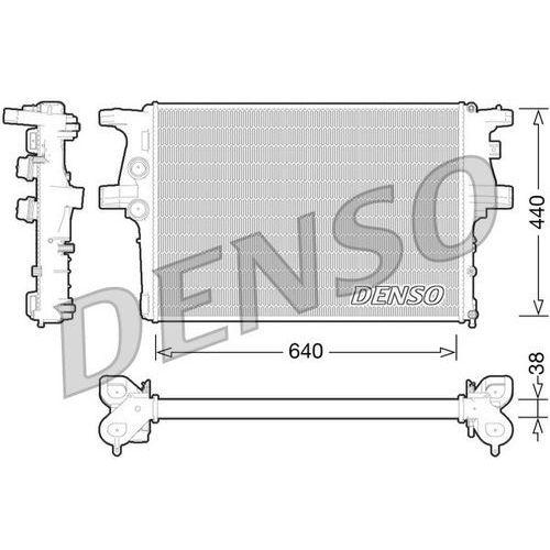 Chłodnica, układ chłodzenia silnika DENSO DRM12008, DRM12008