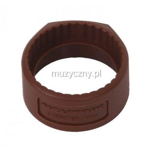 Neutrik pcr 1 pierścień na złącze np*c* (brązowy)