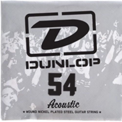 single string acoustic 80-20 054, struna pojedyncza marki Dunlop