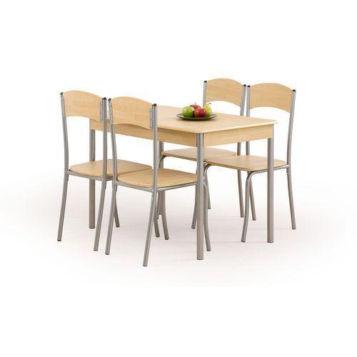 Zestaw HALMAR LONGIN Stół + 4 krzesła, marki Halmar do zakupu w ErgoExpert.pl