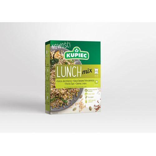 Kupiec Lunch mix kasza jęczmienna, kasza owsiana pęczak, dynia, siemię (kartonik) 4x100g (5906747175795)