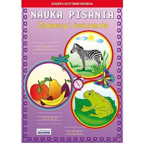 Nauka pisania Zabawy i ćwiczenia Zebra, Beata Guzowska